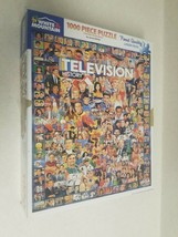 """White Mountain Puzzles """"Television History"""" 1000 Piece Jigsaw Puzzle - $14.99"""