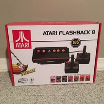 Atari Flashback 8 Classic Game Console 105 Built-in Games Plug N Play - $56.09