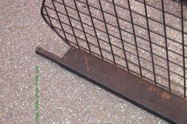 98-02 Subaru Forester Metal Cargo Area Partition Pet Barrier image 3