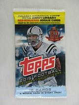 Topps Sealed Pack 2015 Football 12 Card Set - $6.92