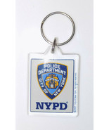 NYPD Lucite Keyring Fob Officially Licensed by the State of NY - $7.97
