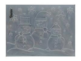 Darice 3 Snowmen Embossing Folder image 2