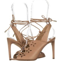 MICHAEL Michael Kors Thalia Sandal Lace Up Sandals 780, Toffee, 5.5 US /... - $39.35