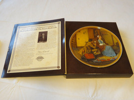 Norman Rockwell's Colonials Portrait for a Birdegroom collector plate 40... - $16.02