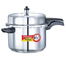 Prestige  Pressure Cookers  Outer Lid  Senior  Stainless Steel 8 Ltr Deluxe - $178.77