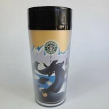 Vintage 1997 Starbucks Barista 16 oz Tumbler with Seals Poppins Insulate... - $19.79