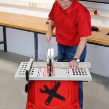 Table Saw Electric Cutting Machine Aluminum Tabletop Woodworking Station - $266.72