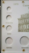 Capital Plastic Holder Carson City Mint Type Set White Case. Very good condition image 2