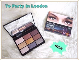 GOSH 9 Shades To Party In London Metallic Eyeshadow Palette - $18.60