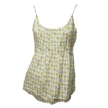 J.Crew Womens Green Blue Seahorse Shells Scoop Neck Casual Tank Top 8 M - $18.81