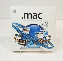 NEW SEALED .MAC 4.0 SOFTWARE INTEGRATED W/ ILIFE & MAC OS X-DISCONTINUED... - $11.40