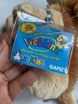 "Webkinz Lil' Cocker Spaniel Lil Kinz With Code Plush Kids Toy 7"" Long clean  image 10"