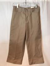 Girls K12 Gear Khaki School Uniform Capri Sz 14 Regular New 2549GR - $8.79