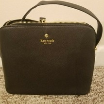 """Kate spade purse. Black. 9"""" x 4.25"""" x 6.5""""  approximately  - $39.35 CAD"""