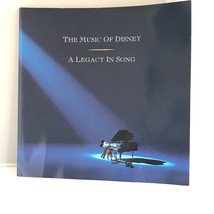 The Music of Disney a Legacy in Song Buena Vista Pictures Softcover Book No CDs - $16.95