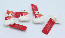 Bath & Body Works Un-Bearably Cute Polar Bear Sponge Hook Suction Shower x4 - $18.99