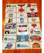 Lot Of 24 Basketball NBA metal License Plates All Different New sealed - $237.59