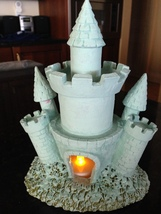 """A Sandcastle for every dreamy Prince & Princess with LED tealight glow 7"""" - $35.99"""