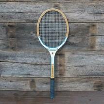 Vintage Slazenger Fibre Gola Legno Racchetta da Tennis - $80.37