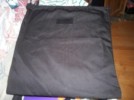 Huge Alexander Wang Black Cotton Blend Travel Dust Bag 18x19 - $13.85