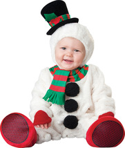 Baby Snowman , Toddler Christmas Costume , 12 TO 18 MONTHS , Free Shipping - $50.00