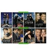 Castle The Complete Series Seasons 1 2 3 4 5 6 7 & 8 DVD Set New Sealed 1-8 - $69.00