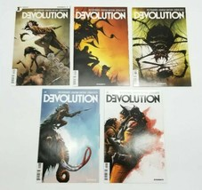 Devolution 1 2 3 4 5 Complete Set 1-5 First Print Dynamite Comic Book Lot - $48.37