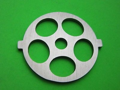 "Primary image for Meat Grinder plate disc die for electric Waring Pro & Oster w/ 5/8"" Course Grind"