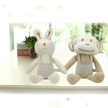 Lovely Baby plush Monkey Rabbit toy Soft Baby sleeping doll  juguetes pa... - $23.00