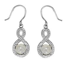 925 Sterling Silver Oval Cut Lemon Quartz Gemstone Earring - $20.60