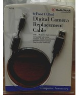 Radio Shack Digital Camera Replacement Cable - 26-128 - BRAND NEW IN PAC... - $11.87