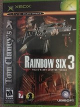 Tom Clancy's Rainbow Six 3 (Microsoft Xbox, 2003) - $6.99
