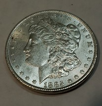 1885 $1 Morgan Silver Dollar Coin Lot # E 114