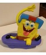 "Sponge Bob Square Pants Skateboards McDonalds Viacom 2012 Hillenburg 3"" ... - $2.96"