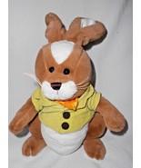 Ganz Patrick McButtons Easter Bunny Rabbit Plush Stuffed Animal Brown Wh... - $14.82