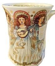 Dunoon Bone China Coffee Mug Susan Scullard Christmas Angels  - $39.99