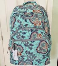 Vera Bradley MSRP $149 Essential Large Backpack/Laptop Bag, Fan Flowers - $87.00