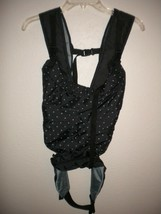 Infantino Black/White Polka Dot Baby Carrier #200-191 - $19.80