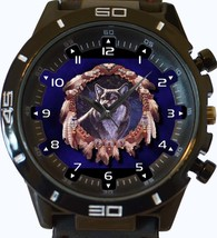 Wolf Protector Of Red Indians New Gt Series Sports Unisex Watch - $34.99