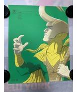 Loki by Florey - 16x20 Grey Matter Art Print Poster Marvel Avengers /100 - $40.80
