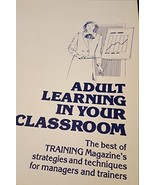 Adult Learning in Your Classroom Zielinski - $24.70