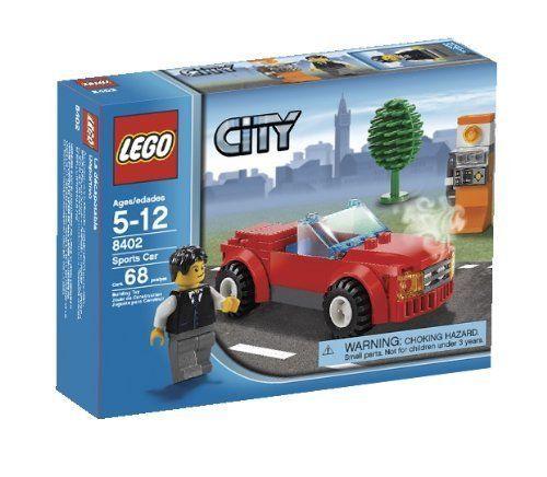 LEGO® City Sports Car Building Play Set 8402 [NEW NIB] Retired