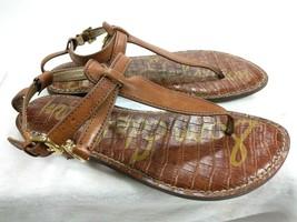 Sam Edelman Women's Galia Thong Sandal Brown 6.5 M US - $30.81