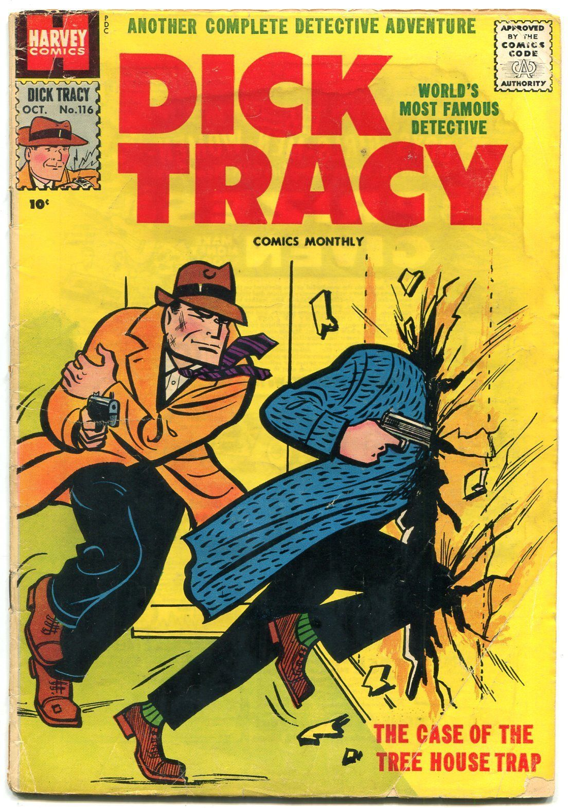 Dick Tracy #116 1957-CHESTER GOULD-HARVEY and similar items