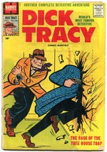 Dick Tracy #116 1957-CHESTER GOULD-HARVEY COMICS-CRIME Vg - £33.60 GBP