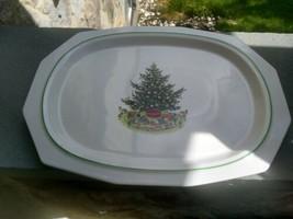 Vintage Pfaltzgraff Christmas Tree Heritage Platter.16 1/4 Inches - $39.99