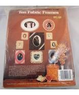 Country Fair Ten Fabric Soft Frames Kit Sealed 9137 - $4.95
