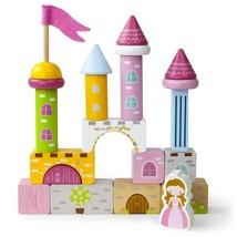 Toddler Boys Toys, Wooden Wonders Princess Pine Castle Toy Playset Kids - $27.99