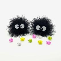 Soot sprite crochet plush keyring keychain, My Neighbor Totoro, Spirited... - $7.00