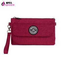 Nylon Wallet Double Layer Zipper Coin Pocket Organizer Purse Hand Bag Wr... - $39.18